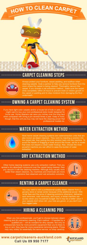 how to clean your carpets properly